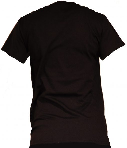 tshirt black back
