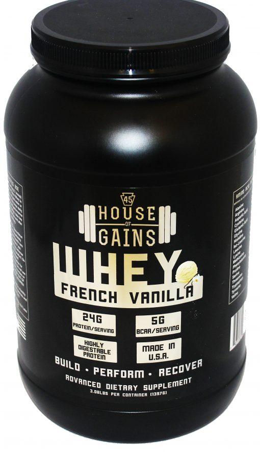 buy french vanilla whey protein shake