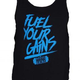 Mens Fuel Your Gains Tanks