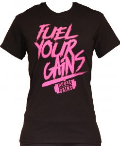 fuel your gains female shirt