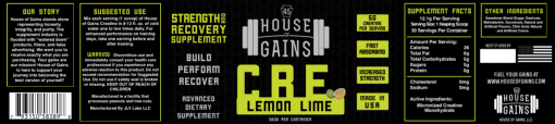 buy lemon lime Creatine online