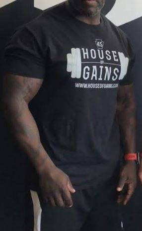 workout tshirt- male