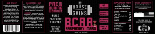 buy Raspberry margarita BCAA