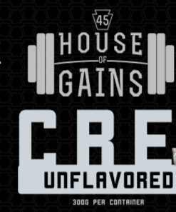 unflavored creatine