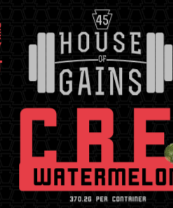 Watermelon flavored creatine