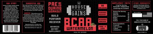 Watermelon flavored BCAA