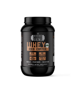order iced coffee flavored whey