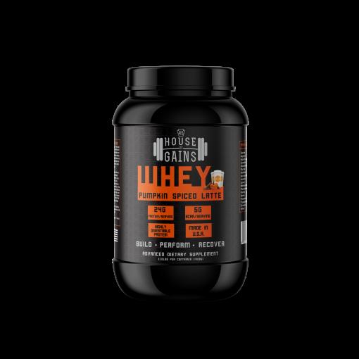 pumpkin spice whey protein