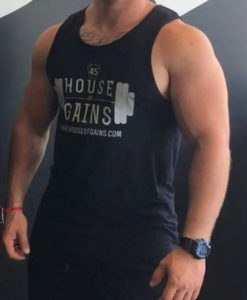 workout tank- male