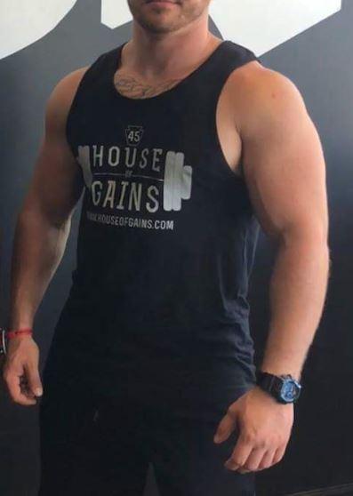 workout tank- male