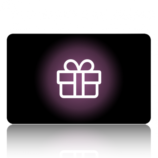 Gift card for online supplement store