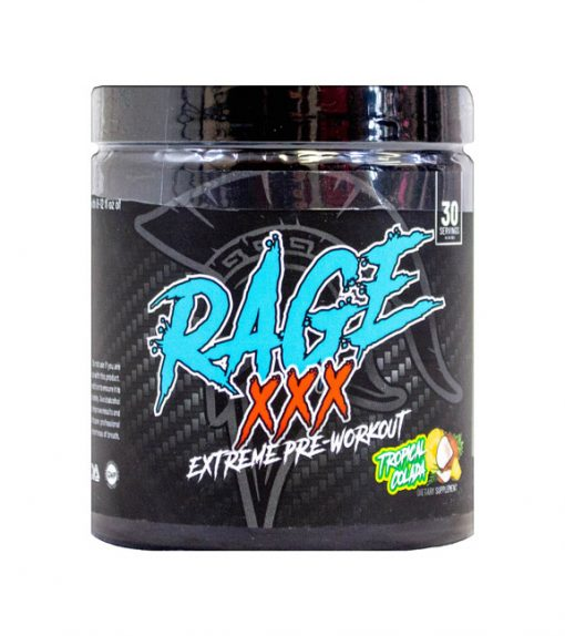 Rage XXX Pre workout by Centurion Labz