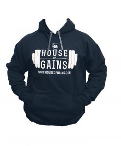 black workout hoodie