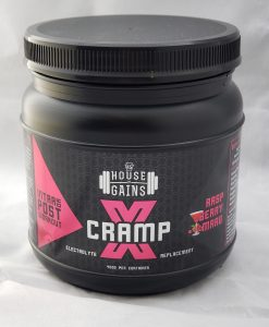powdered electrolyte for muscle cramps