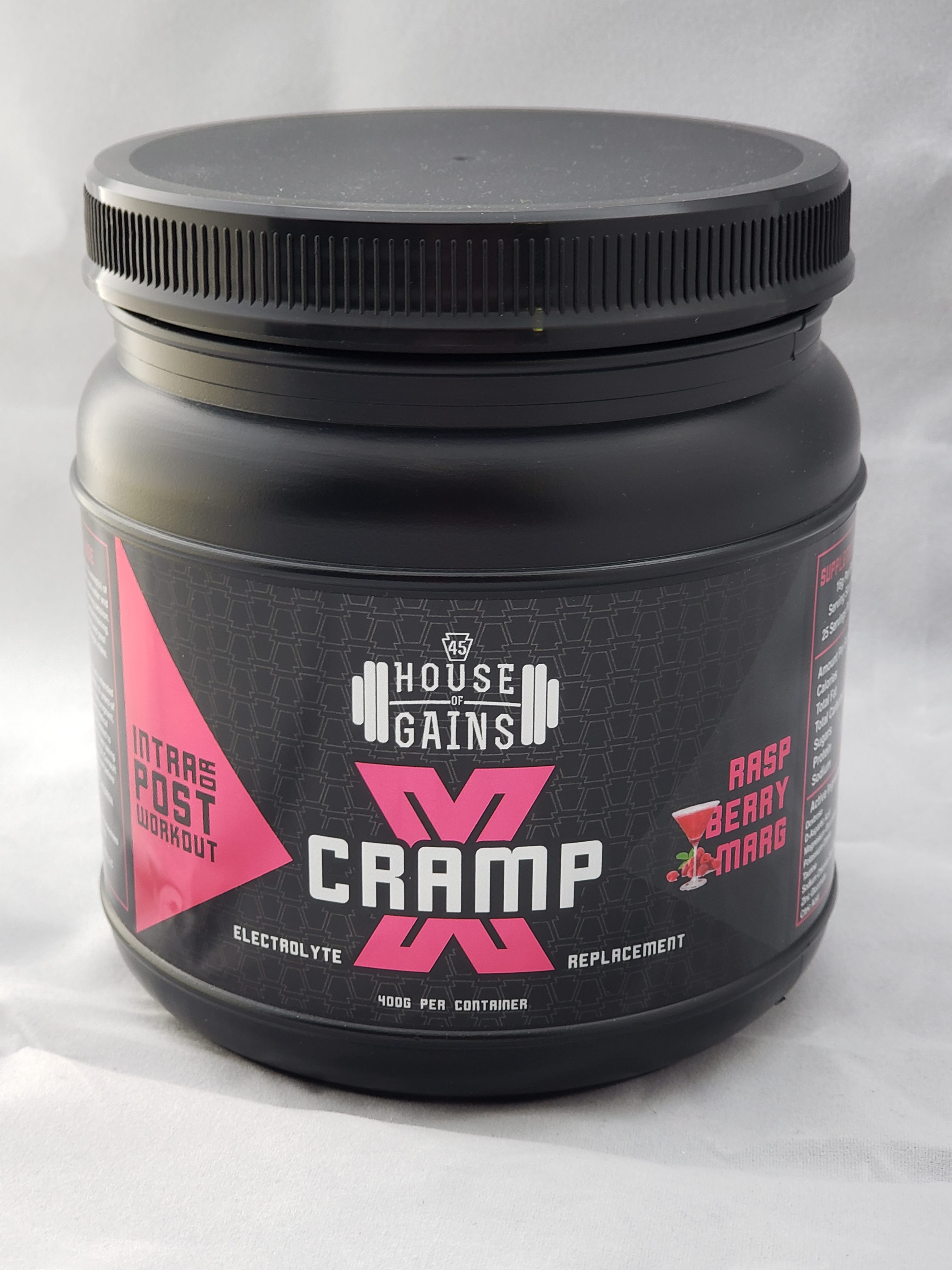 Cramp X Powdered Electrolyte Solution