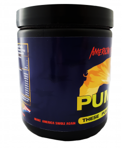 Buy Pumped! An All American Pre-Workout!