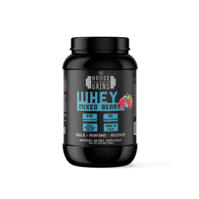 Mixed Berry Whey Protein 3lb