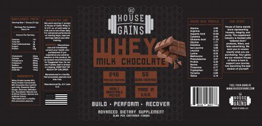 Milk Chocolate Whey Protein
