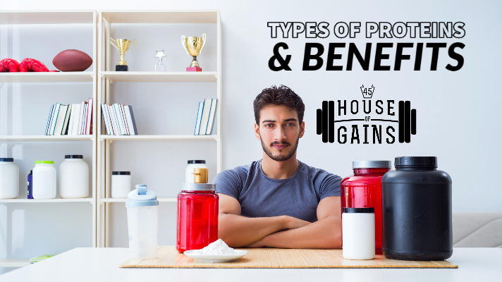 types of proteins and benefits