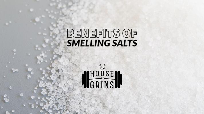 benefits of smellling salts