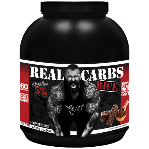 Rich Piana 5% Nutrition Real Carbs rice
