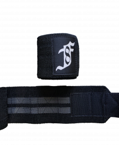 Forell Wrist Wraps Black With Rubber inlay