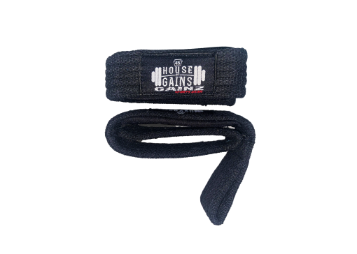 Wrist straps for deadlifting