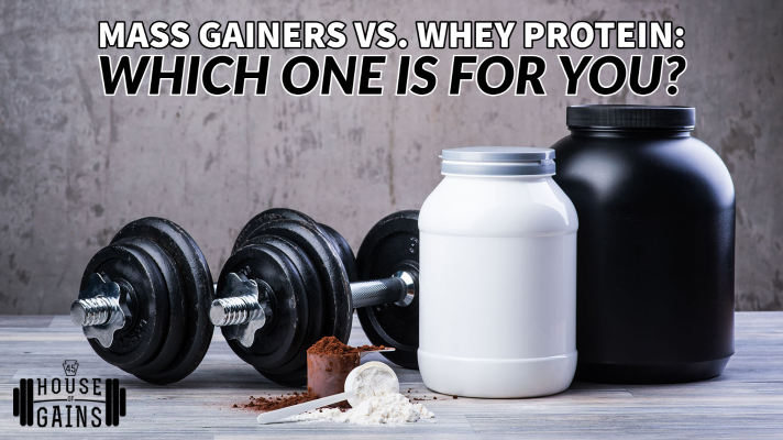 Mass Gainers and Whey Protein